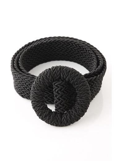 Z Giyim Örme Kemer Siyah